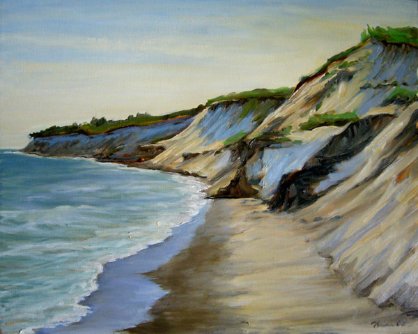 Chilmark beach painting